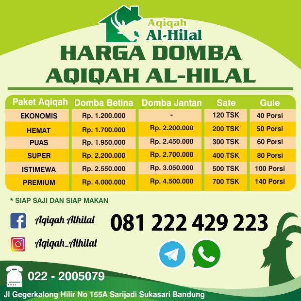 Harga Kambing Aqiqah Cimahi Bandung